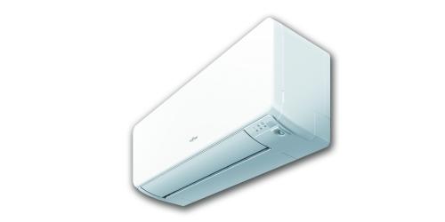 Fujitsu Design R32 ( ASYG09KGTA / AOYG09KGCA ) 2,5 kW-os inverteres klíma, mono, oldalfali split klíma - beltéri egység