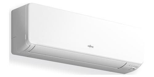 Fujitsu Design R32 ( ASYG12KGTA / AOYG12KGCA ) 3,4 kW-os inverteres klíma, mono, oldalfali split klíma - beltéri egység