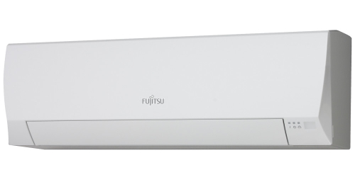 Fujitsu Eco R410A ( ASYG12LLCE / AOYG12LLCE ) 3,4 kW-os inverteres klíma, mono, oldalfali split klíma - beltéri egység