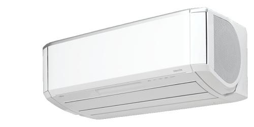 Fujitsu NocriaX ( ASYG12KXCA / AOYG12KXCA ) 3,4 kW-os inverteres klíma, mono, oldalfali split klíma - beltéri egység