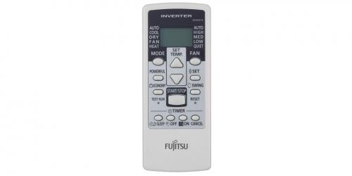 Fujitsu ECO ( ASYG07KPCA / AOYG07KPCA ) 2 kW-os inverteres klíma, mono, oldalfali split klíma - távirányító