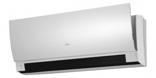 Fujitsu Design R410A ( ASYG09LTCA / AOYG09LTC ) 2,5 kW-os inverteres klíma, mono, oldalfali split klíma - beltéri egység