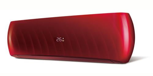 HD Design ( HDWI-DSGN-120C-RED / HDOI-DSGN-120C ) 3,5 kW-os inverteres klíma, mono, oldalfali split klíma - beltéri egység