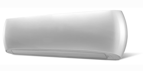 HD Design ( HDWI-DSGN-120C-WHITE / HDOI-DSGN-120C ) 3,5 kW-os inverteres klíma, mono, oldalfali split klíma - beltéri egység