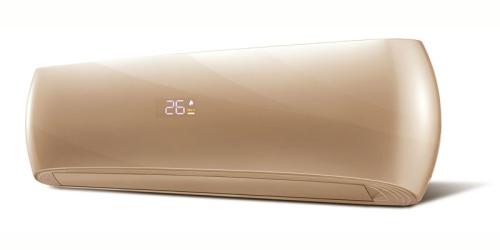 HD Design ( HDWI-DSGN-90C-GOLD / HDOI-DSGN-90C ) 2,5 kW-os inverteres klíma, mono, oldalfali split klíma - beltéri egység
