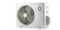 HD Maximus ( HDWI-Maximus-96D / HDOI-Maximus-96D ) 2,6 kW-os inverteres klíma, mono, oldalfali split klíma - kültéri egység