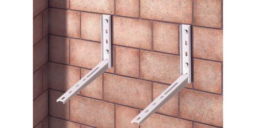 Klíma kültéri tartó konzol 420 mm-es szinterezett - Klíma kültéri tartó konzol 420 mm-es szinterezett
