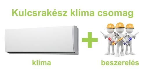 Kulcsrakész klíma csomag